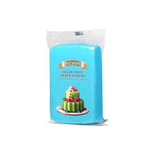 Pastă de zahăr - ALBASTRU - 1kg - VIZYON