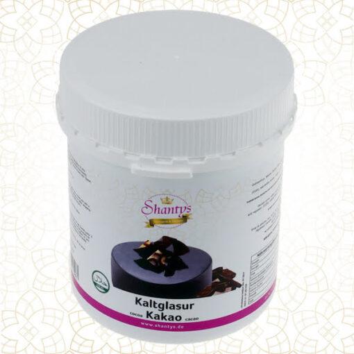 Glazura oglinda la rece gata de utlizat -Cacao - 1kg - Shantys