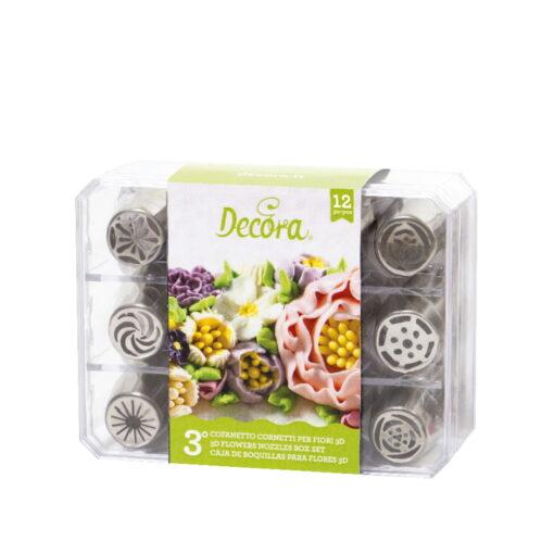 Set 12 Duiuri Rusesti pentru flori 3D -Model3- Decora