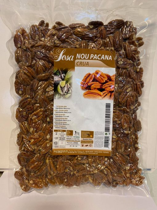 Nuci Pecan crude - 1kg -100% Bio- SOSA