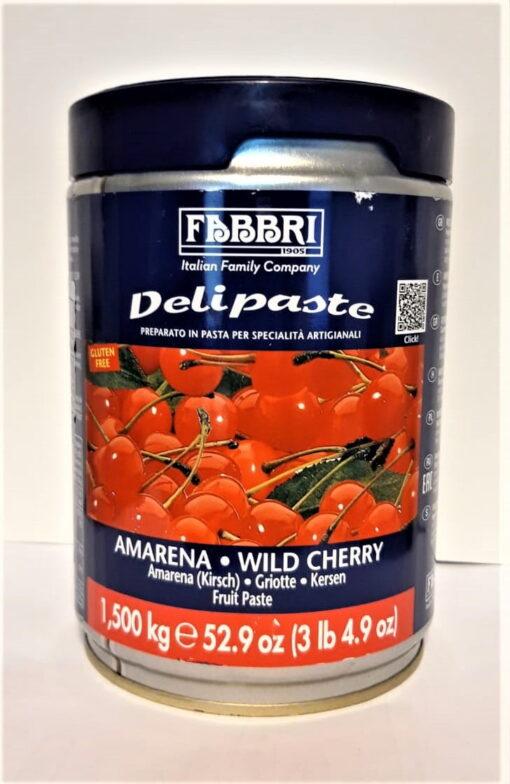 Pastă concentrată aromatizantă-Delipaste-AMARETTO-1.3 kg-FABBRI