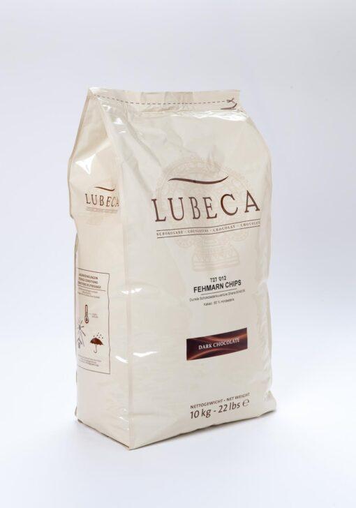 Ciocolată neagră - cacao 60% - LUBECA - 2,5 kg