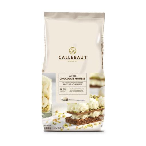 Mousse Ciocolata Alba 800G - Callebaut