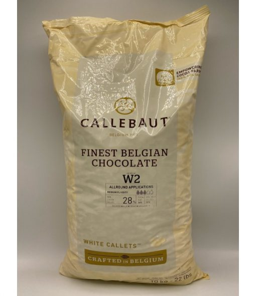 Ciocolata Fina Alba - 10 kg - W2 28% - Callebaut®
