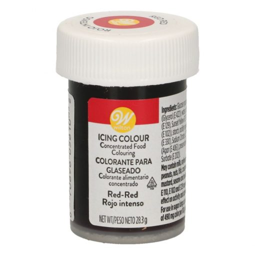 Colorant alimentar -RED ,Rosu Intens-28g- Wilton
