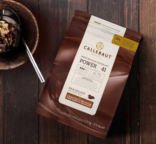 Ciocolata cu Lapte 40,7% POWER-41 - 2,5 Kg - Callebaut®