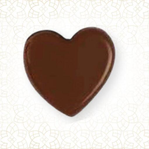 Set 270 bucăți Choco Deco - Dark Heart -19 x 17 mm-Shantys