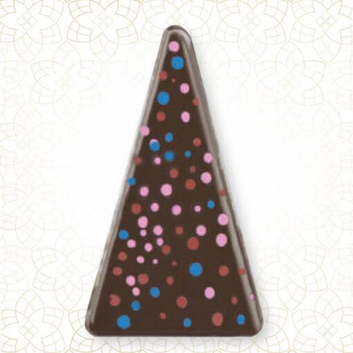 Decor Ciocolata Triunghi Cosmos ,153buc 47x30mm -Shantys