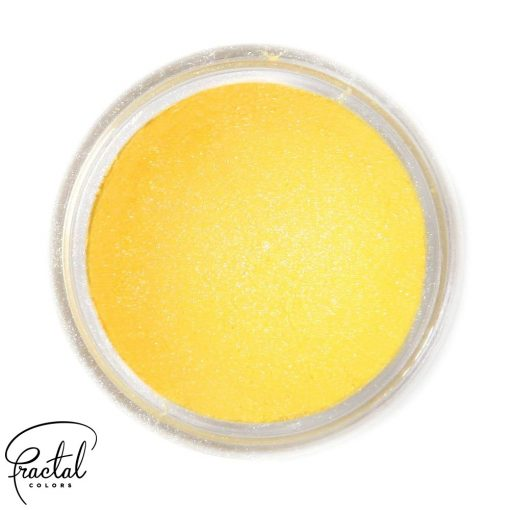Colorant pudra - SHINE SUNFLOWER YELLOW -10 ml - Fractal