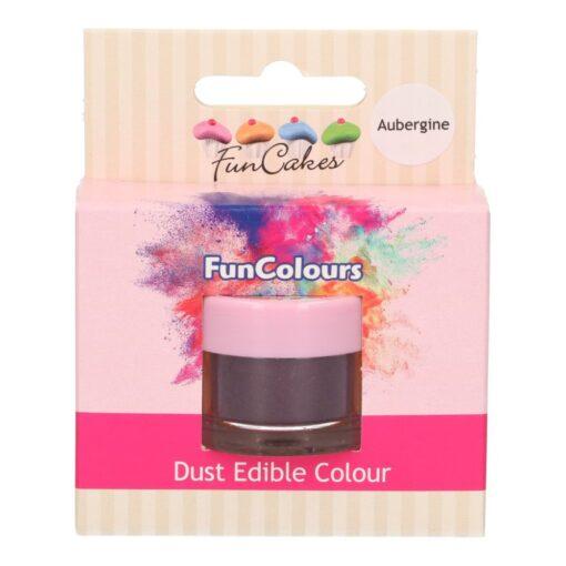 Colorant alimentar pudra - AUBERGINE - 2.5G- Funcakes
