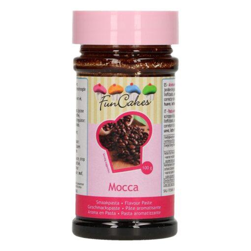 Pasta aromatizata- MOCCA- 120G -Funcakes