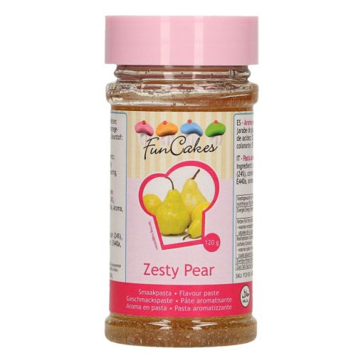 Pasta aromatizata - ZESTY PEAR- 120G -Funcakes