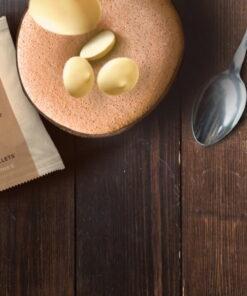 Plic cu Dropsuri pentru ciocolată caldă-Ciocolată Albă - 28%-CALLEBAUT