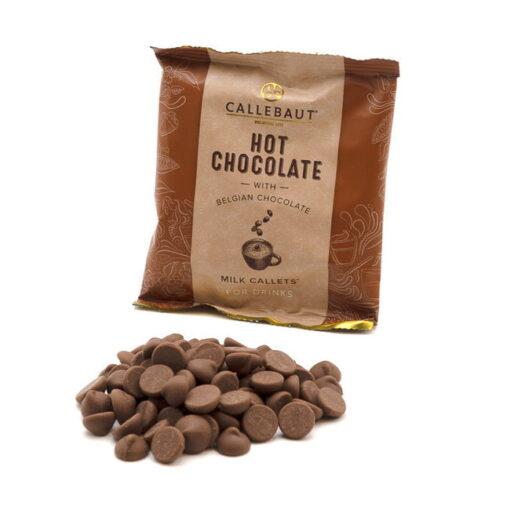 Plic cu Dropsuri pentru ciocolată caldă-Ciocolată cu Lapte - 33.6%-CALLEBAUT