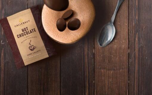 Plic cu Dropsuri pentru ciocolată caldă-Ciocolată Neagră - 54.5%-CALLEBAUT