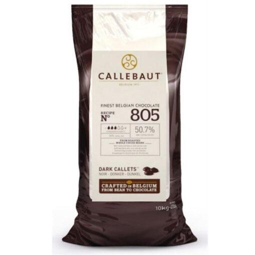 Ciocolata Neagra 50,7% Recipe 805, 10 Kg -Callebaut®