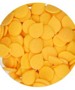 Ciocolată glazuri (Deco Melts)-YELLOW-250g-Funcakes