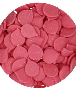 Ciocolată glazuri (Deco Melts)-PINK -1 kg -Funcakes