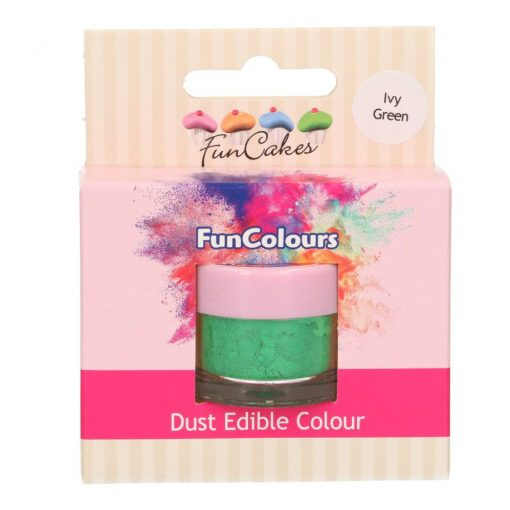 Colorant alimentar comestibil pudra - IVY GREEN- 1,5 gr- Funcakes