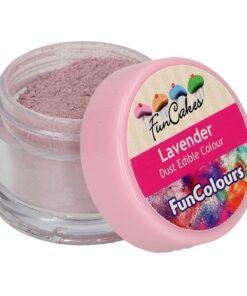 Colorant alimentar comestibil pudra - LAVENDER - 3,5 gr- Funcakes