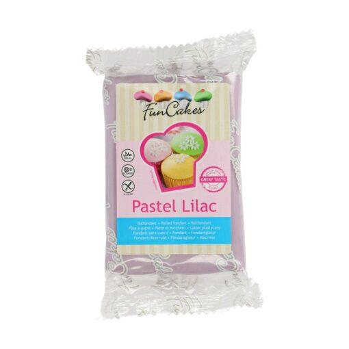 Fondant-PASTEL LILAC-250G-Funcakes