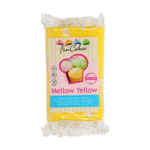 Fondant-MELLOW YELLOW-250G-Funcakes