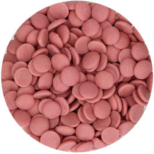 Ciocolată glazuri -RUBY -250 gr -Funcakes