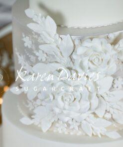Mulaj din silicon pentru decor - LARGE ROSE- 4 x 8 cm -Karen Davies