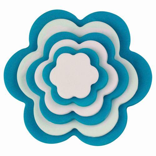 Set 6 buc Decupatoare din plastic - FLOWER- Pme