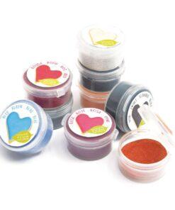 Set 9 buc colorant pudra alimentar natural - ScrapCooking