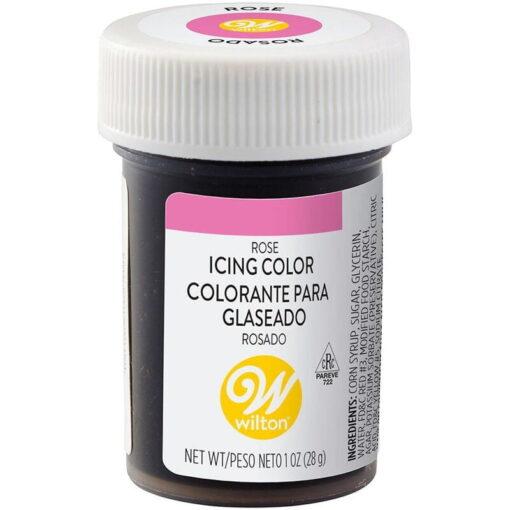 Colorant Alimentar Gel, Roz-Trandafiriu (Rose) -28gr- Wilton-Decora