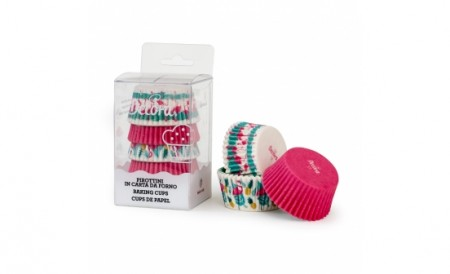 Mini forme de copt briose - PASTE - 100 buc - Wilton