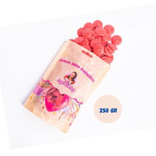 Choco Deco Premium (Deco Melts)-250g-Rosu-Vanilie-Anyta Cooking