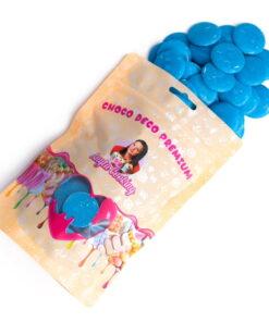 Cioco Deco Premium (Deco Melts)-250g-Albastru Inchis-Vanilie-Anyta Cooking