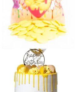 Choco Deco Premium (Deco Melts)-1 kg-(Galben-Lamaie)-Anyta Cooking