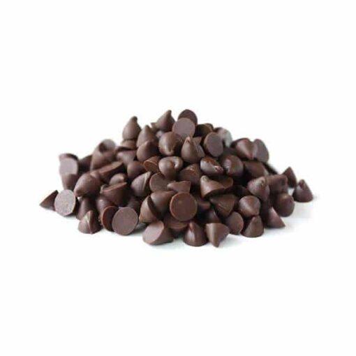 Cuvertură de ciocolată neagră termostabilă picături - 750g - Anyta Cooking