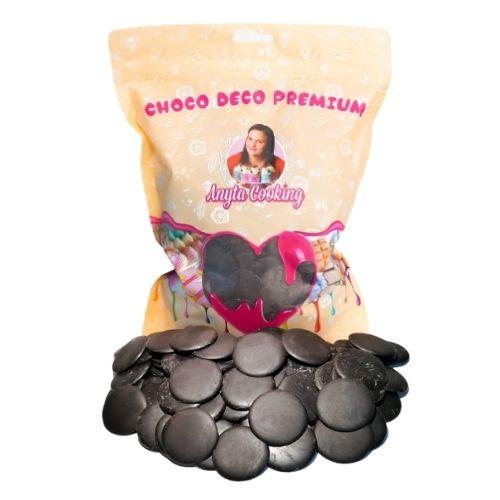 Choco Deco Premium (Deco Melts)-1 kg-(NEGRU TACIUNE)-Anyta Cooking