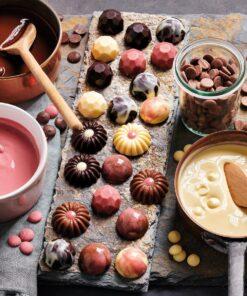 Drajeuri ciocolata - RUBY -250 GR-Funcakes