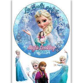 """Imagine Comestibila """" Frozen2 """" - Anyta Cooking"""