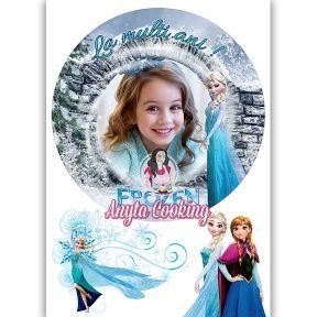 """Imagine Comestibila """" Frozen3 """" - Anyta Cooking"""