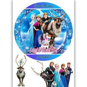 """Imagine Comestibila """" Frozen4 """" - Anyta Cooking"""