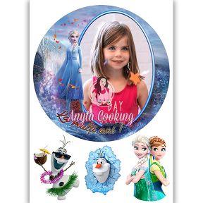 """Imagine Comestibila """" Frozen5 """" - Anyta Cooking"""